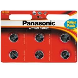 Panasonic Baterie CR2032 BL6
